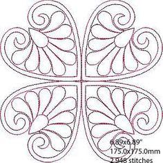 Quilting Stencils, Quilting Templates, Quilt Patterns Free, Quilting Designs, Cross Stitch Patterns, Machine Quilting Patterns, Hand Embroidery Designs, Applique Designs, Beaded Embroidery