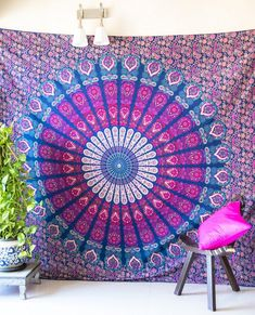 Home & Garden Clever Indian Mandala Tapestry Home Decoration Tapestrys Cover Beach Towel Yoga/picnic Mat Home Decor To Win Warm Praise From Customers