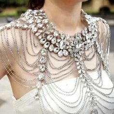 Reina Bridal Body Chain / Revolucion Boutique