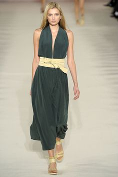 Chloé Spring 2009 Ready-to-Wear Fashion Show - Lily Donaldson