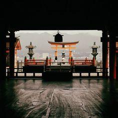 Alla mattina presto il santuario di Itsukushima è immerso nel silenzio dell'isola di #Miyajima. È un momento di #pace #Giappone #Japan #travel #viaggio #amazing #YouTube #vlog #travelblogger #travelvlogger #photooftheday #photography #japantrip #turismo #sugoi #onlyinjapan #temple #shrine #natgeotravel #Hiroshima #history