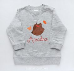 Esencia Custome: Custom Sweatshirt for baby - Sudadera personalizada bebé