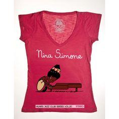 Camiseta Fem. Nina Peanuts