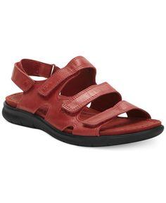Ecco Women's Babett Three Strap Sandals
