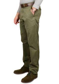 Vintage 1946 Fatigue Signature Military Twill Trim Fit Pants