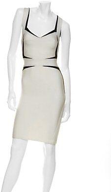 a1dd8300bdf Herve Leger Preorder Estelle Sculpted Slip Dress - ShopStyle Evening