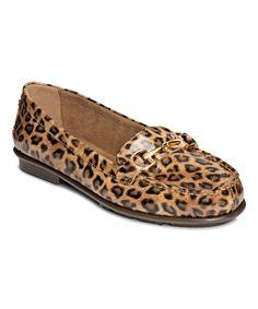 A2 by Aerosoles Leopard Tan Nu World Loafer by A2 by Aerosoles #zulily #zulilyfinds