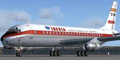 Iberia DC8-52