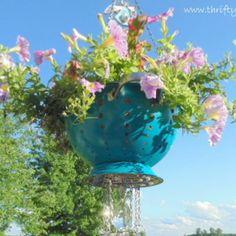 Strainer Planter Wind Chimes