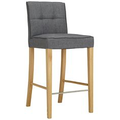 Simone Bar Chair, Grey