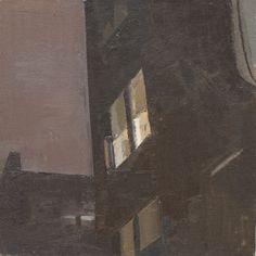 night study, oil on linen on panel,12 x 12 in, 2008
