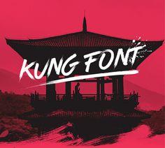Kung Free Font #typeface #brushfonts #fonts #freefonts #freebies #scriptfonts #FridayFreebie #freebiefriday
