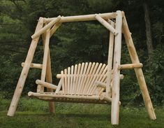 Outdoor Cedar Log Furniture (For outside!!)   #BestlaminateDream