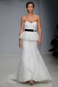 16 #Peplum Wedding Dresses from Spring #2013  Peplum Wedding Dress: #Alfred Angelo
