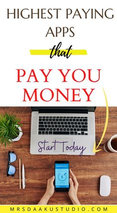 Wondering which apps pay you money? Which ones are the legit free money-making apps? This is a list of the best and the highest paying apps in 2021 to make money today! Make Money Today, Make Money From Home, Make Money Online, How To Make Money, Apps That Pay You, Free Money, Letter Board, Making Money At Home