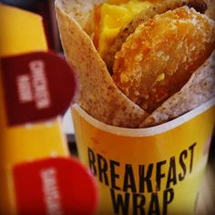 Yummy Breakfast Wrap inside my Instagram : Plushism_