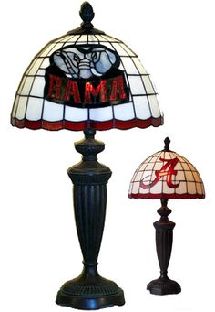 Alabama Crimson Tide Tiffany Desk Lamp