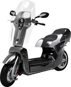 Compact et léger (83 kg), le scooter électrique pliable Xor XO2 accélère aussi fort qu'un Tmax !