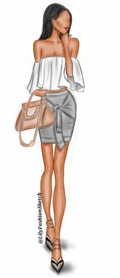 @lilyfashionsketch | Be Inspirational ❥|Mz. Manerz: Being well dressed is a beautiful form of confidence, happiness & politeness