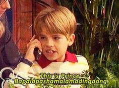 Oh my gosh!!!! My brother and I haven't watched this in years, but we still recite this lie to each other!!!