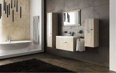 Modern Vanity 1 Modern Vanity, Modern Bathroom, Bathroom Furniture, Double Vanity, Bathtub, Mirror, Simple, Design, Home Decor