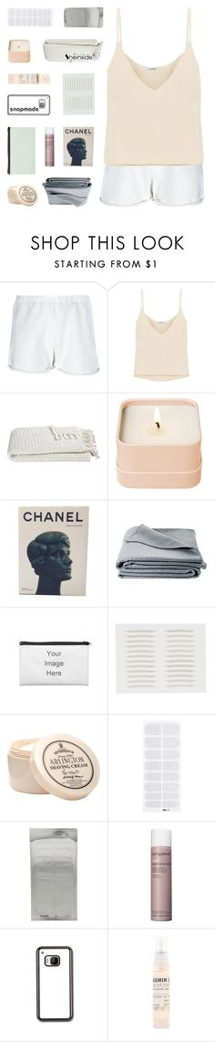"""i can love you through your heartache"" by kristen-gregory-sexy-sports-babe ❤ liked on Polyvore featuring LEATHER CROWN, Totême, Crate and Barrel, Henri Bendel, Chanel, JAG Zoeppritz, D.R. Harris & Co Ltd., Living Proof, Le Labo and melsunicorns"