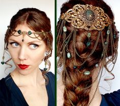 Forest Elf Headdress Circlet in Bronze and by BeasleysWonders, $175.00