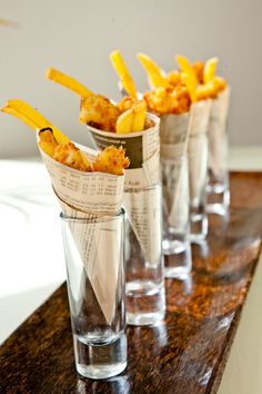 Mini fish & chips evening buffet