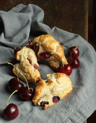 Cherry-Vanilla Scones