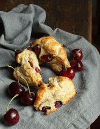 Cherry-Vanilla Scones