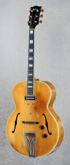 Charlie Christian's 1940 Gibson ES-250 guitar.....