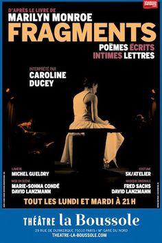 Fragments met Marilyn Monroe à nue au Théâtre La Boussole