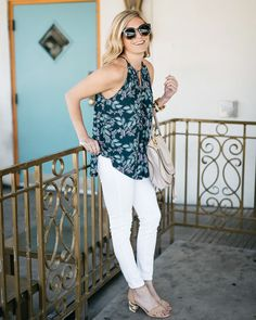 Just add sunnies. Show off your shoulders and start shedding your layers like @onesmallblonde this week—it's almost summer!