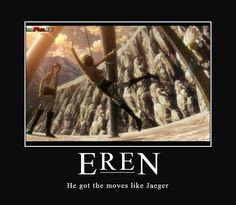 Tags: Anime, Demotivational Poster, Shingeki no Kyojin, Eren Jaeger