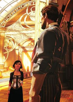 Bioshock Infinite Father and daughter.