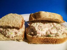 Classic Tuna Salad from Food.com:   This is great if you're looking for the perfect recipe for traditional tuna salad. I got it from one of my favorite Cook's Illustrated cookbooks. The texture is perfect and not watery, which is one of the things I've always hated about some tuna salad recipes. The lemon juice also gives it a nice fresh flavor.