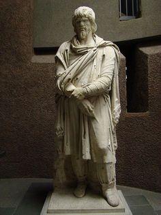 Un mister istoric: statuile dacilor din Roma Romanian Language, Vatican, Byzantine, Archaeology, Art Museum, Fantasy, Alchemy, Statues, Places