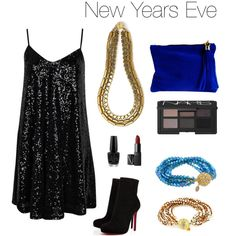 """New Years Eve"" by sbgdesigns on Polyvore"