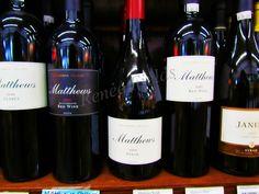 Matthews Wine. Quite possibly my favorite Cabernet.