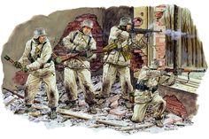 1942-43 German Infantry