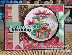 Birthday Card 1 of AmyR's 2012 Birthday Card Series - Prairie Paper & Ink