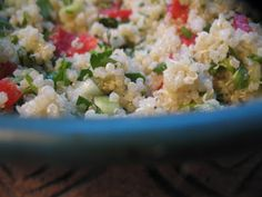 Nourishing Gourmet: Quinoa Tabbouleh