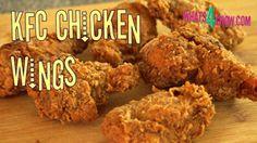 KFC Chicken Wings. How to Make KFC Hot Wings at Home. KFC Deep-Fried Wings Recipe.
