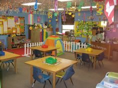 Such an inviting classroom