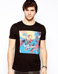 ASOS T-Shirt With Babyshambles Print
