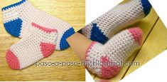 Cómo tejer calcetines al crochet / DIY ~ Explicación en Español Crochet Diy, Fingerless Gloves, Arm Warmers, Blog, Aloe Vera, Eyeliner, New Ideas, Fuzzy Slippers, Crochet Flowers