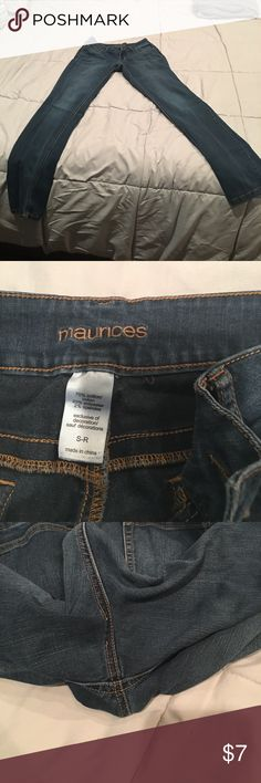 Maurice's jeggings These have been worn pictures of all areas Maurices Pants