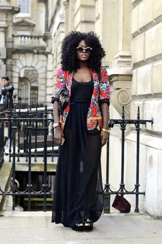 Streetstyle: «London Fashion Week »