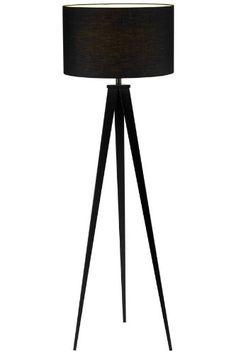 "Adesso 6424-01 Director 61.5"" Floor Lamp, Black"