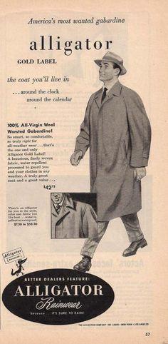 Alligator coat